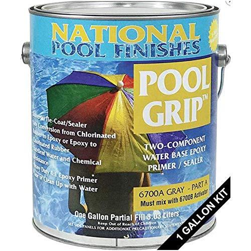 National Pool Finishes Pool Grip - Waterbase Epoxy Primer - 1 Gallon Kit ()