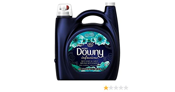 Amazon.com: Downy Ultra Infusions Liquid Fabric Softener- He Compatible, 174 Loads, 150fl. Oz (Botanical Mist) by Downy: Health & Personal Care