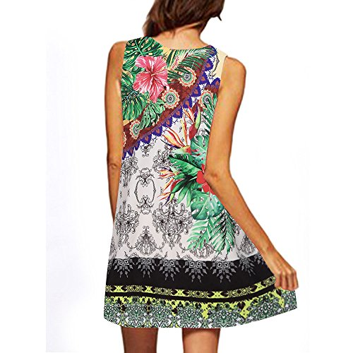 Dress Summer Cheap Lifelike Women Green Porcelain Skirt Digital Parrot Sundress White Butterfly Print 3D Clearance China Birdfly p671UF7