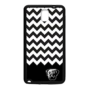 Hoomin Cleveland Browns Black White Chevron Samsung Galaxy Note3 Cell Phone Cases Cover Popular Gifts(Laster Technology)