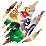 Various 3D CLAW Wall stickers Vinyl wall art for cars bikes caravans homes Customise4U (claw avengers)