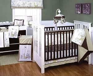 Amazon Com Kids Line 6 Piece Bunny Meadow Crib Bedding
