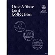 1909-DATE 1981 CENT COLLECTION No 9100 WHITMAN ONE-A-YEAR COIN; ALBUM, BINDER, BOARD, BOOK, CARD, COLLECTION, FOLDER, HOLDER, PAGE, PORTFOLIO, PUBLICATION, SET, VOLUME