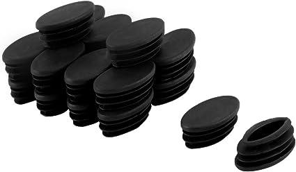 Piedini per Gambe del Tavolo Forma Ovale 10 Pezzi 30 mm x 15 mm x 16 mm Sourcingmap/®