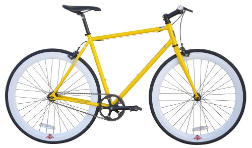 Fixie 700C Extreme 54cm Firmstrong - Yellow by Firmstrong