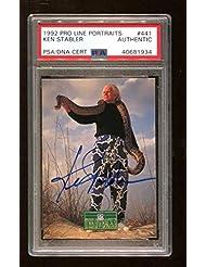 5794f214d Ken Stabler Autographed Signed 1992 Proline Portraits Autographed Signed  Raiders Memorabilia - PSA DNA Authentic