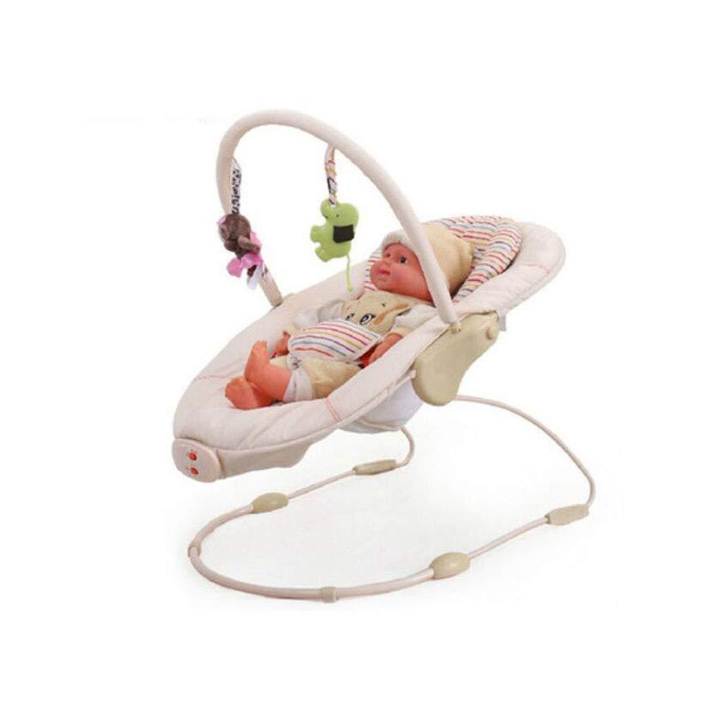 FH 赤ちゃんの揺れ寝袋電気ロッキングチェア多機能ベビークレードルリクライニングチェア付き音楽玩具   B07MK2VDWR