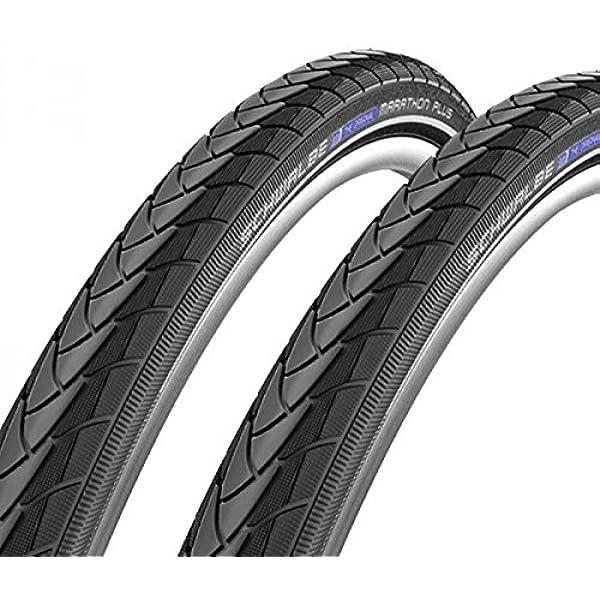 622 reflex increvable fil Schwalbe a833f marathon pLUS lot de 2 pneus de v/élo 28 x 1,5 40