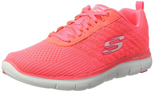 Skechers Sport Frauen Flex Appeal 2.0 Fashion Sneaker Crl