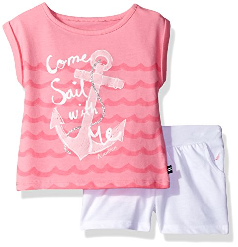 nautica-baby-girls-graphic-tee-with-fashion-short-set-light-pink-12-months