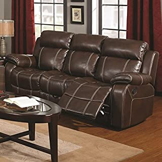 Madhu's COLLECTION Décor Sofa Recliner by Mg Decor, Large, Brown (B07F4HRW3V) | Amazon price tracker / tracking, Amazon price history charts, Amazon price watches, Amazon price drop alerts