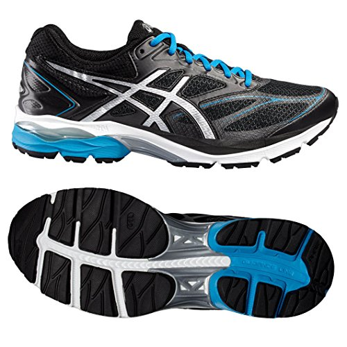 Asics Gel-Pulse 8, Zapatillas de Running para Hombre Negro (Black/Silver/Blue Jewel)