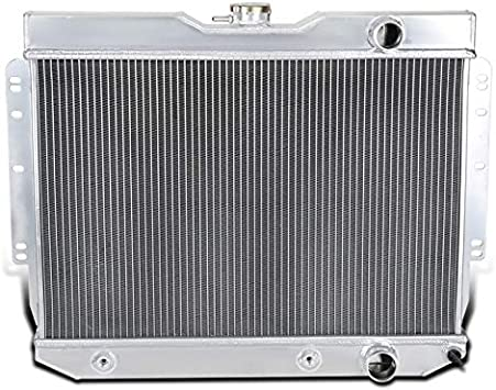 Fit 60-65 Chevrolet Bel Air Chevelle Impala V8 L6 AT 3 Row Aluminum Radiator