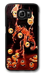 The hands of the eye Custom Samsung Galaxy S6/Samsung S6 Case Cover Polycarbonate Black