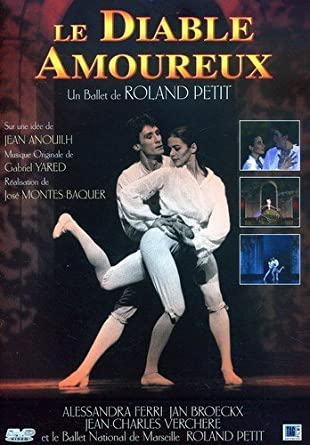Image result for diable amoureux, roland petit, ballet, film