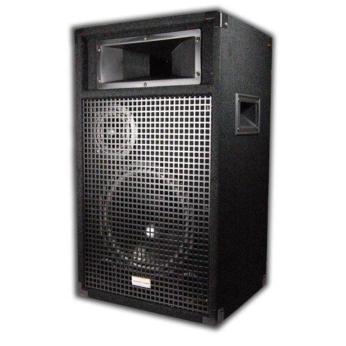 """Acoustic Audio BR10 PA Karaoke DJ 10"""" Speaker Pair 1600 Watts 3 Way New 2BR10"""