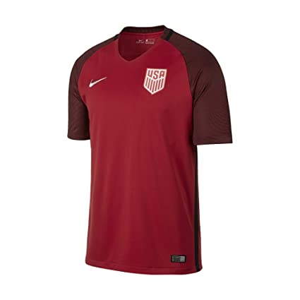 6cf32fef1 Nike Men's Dry United States Third Stadium Soccer Jersey (Small) Red