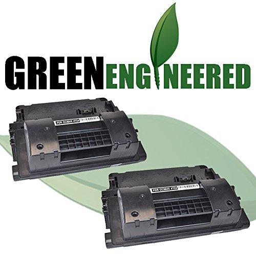P4015 P4515 Series - GreenEngineered HP CC364X (HP 64X) Remanufactured Black High Yield Laser Toner Cartridge Dual Pack for LaserJet P4015, P4515 Series