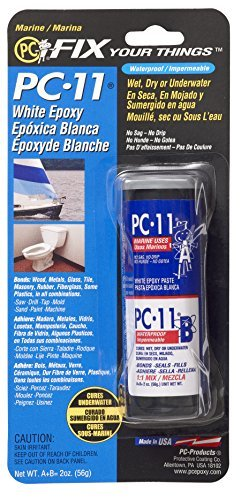 PC Products PC-11 Two-Part Marine Grade Epoxy Adhesive Paste, 2 oz in (Marine Epoxy Paste)