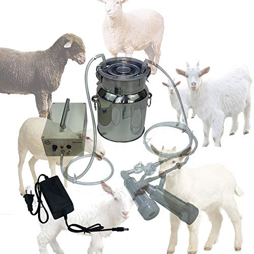 14L Vacuum Pulse Bionic Sheep Milking Machine (Advanced Version - Lithium Battery) ()