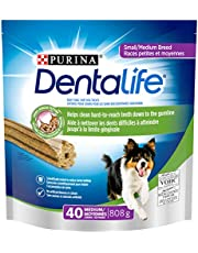 DentaLife Daily Oral Care, Dental Dog Treats for Small & Medium Breed Dogs - 40 ct Pouch