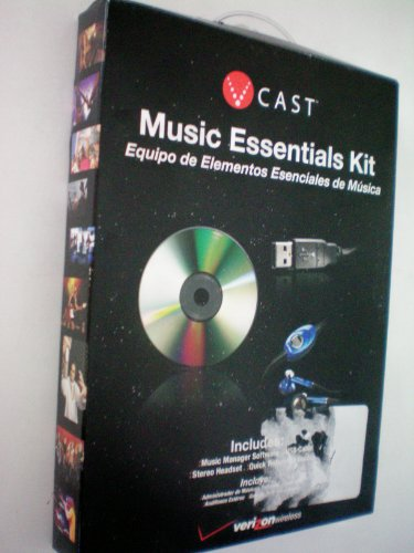 - V Cast Verizon Music Essentials Kit -- Supports Samsung A950 Phone