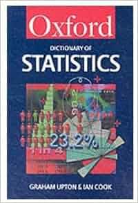 oxford dictionary of statistics pdf
