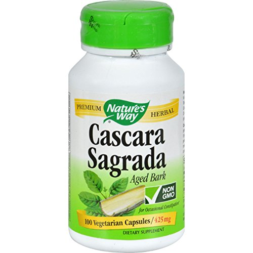 (Nature's Way Cascara Sagrada Aged Bark - 100 Vcaps)