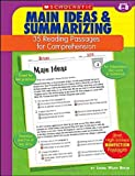 35 Reading Passages for Comprehension: Main Ideas & Summarizing