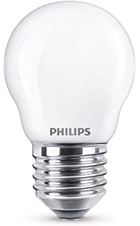 Philips Pack de 2 bombillas LED estándar mate E27, 9.5 W, 2 ...
