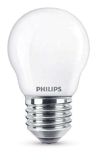 Philips Bombilla LED E27, 2.2 W, luz blanca