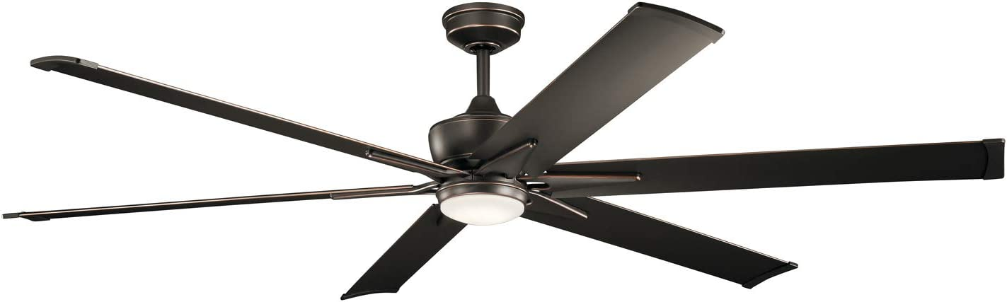 Kichler 300301OZ Szeplo II 80″ Outdoor Ceiling Fan