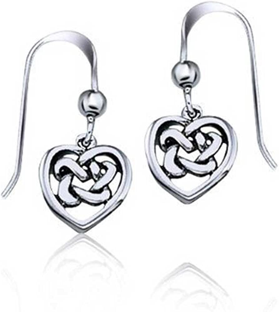 Unique Royal Jewelry All Solid 925 Sterling Silver Cubic Zirconia Designer Love Knot Post Stud Earrings.