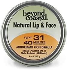 Beyond Coastal Natural Lip and Face Sun Protection