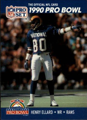 1990 Pro Set Football Card #388 Henry Ellard Near ()