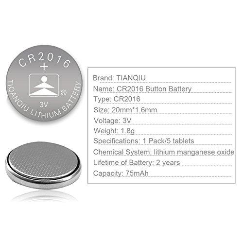 CR2016-3V-Lithium-Battery10-pack