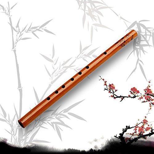 Kangnice 전통 6 홀 대나무 피리 클라리넷 학생 악기 목제 색상/K..