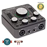 Arturia AudioFuse 14 x 14 USB Audio Interface Space Grey includes Free Wireless Earbuds - Stereo Bluetooth In-ear and 1 Year Everything Music Extended Warranty