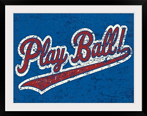 - greatBIGcanvas Play Ball! by Peter Horjus Photographic Print with Black Frame, 36