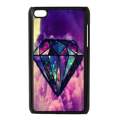 Custom Diamond Hard Case for iPod touch4, Customized Diamond Ipod Hard Cover Case, DIY Diamond touch4 Cover