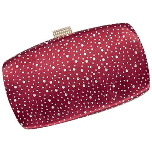 Minaudiere Burgundy Crystals HBG8299 Style Scattered Hq1fXx