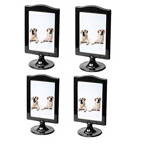 Amazoncom Leoyoubei Pack Of 4 Vertical Photo Frame Double Sided