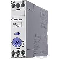 Finder Zeit-Relais 22,5mm DIN AC/DC Serie 87