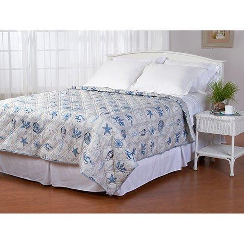 Ashley Cooper Seaside Quilt in Queen Size 86 In x 86 In