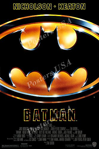 Posters USA - DC Batman 1989 Michael Keaton Movie Poster GLOSSY FINISH - FIL218 (24