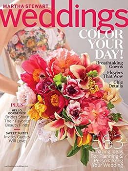 1-Yr Martha Stewart Weddings Magazine