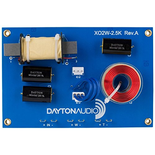 Dayton Audio XO2W-2.5K 2-Way Crossover 2,500 - 2 Dayton