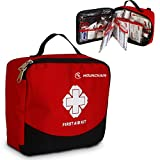 Mounchain First Aid Kit - 148 Piece Aid Kit and Emergency First Aid Survival Kit for Home, Travel, Business, Camping, Sports, Emergency, Bonus Mini Travel Car First Aid Kit
