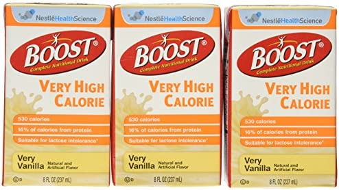 Boost VHC -Very High Calorie, Vanilla 237 mL 8 fl oz , 27 case