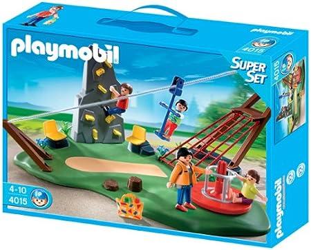 PLAYMOBIL - SuperSet Parque Infantil (4015)